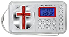 Daily Meditation Audio Bible Player is designed to empower Christians to live a blessed Psalm 1 Lifestyle. Its advanced numerical indexing system, built-in speaker and earphone, rechargeable battery will enable you to listen to God's words an...
