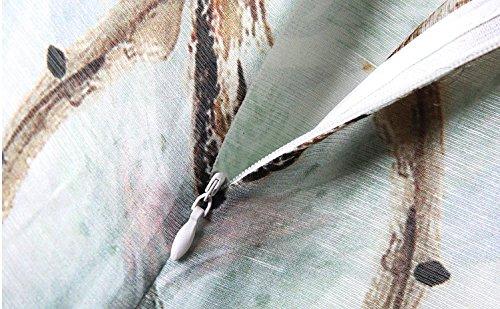 Bobbycool Femmes À Long Coton Cheongsam Style Folk Costume Robe Imprimée À Plusieurs