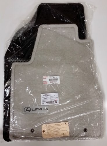 TOYOTA Genuine Parts PT206-48040-11 OEM Lexus RX330 RX350 Gray Carpet Floor Mat ()