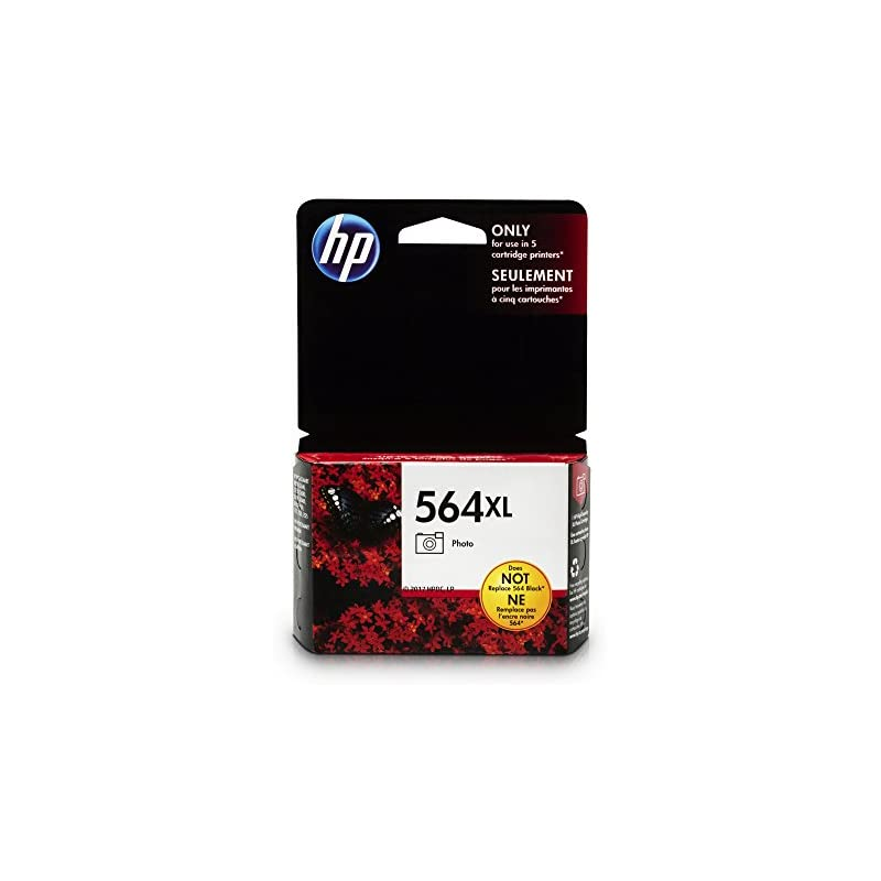 HP 564XL Photo Ink Cartridge (CB322WN) f