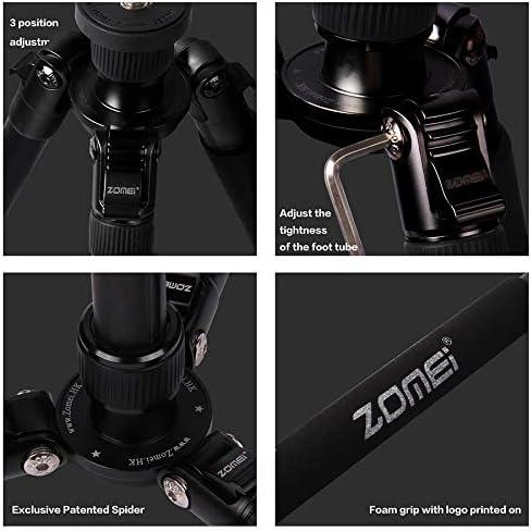 ZOMEI Black Carbon Fiber Tripod//Monopod Panoramic ballhead F//Canon Nikon DSLR