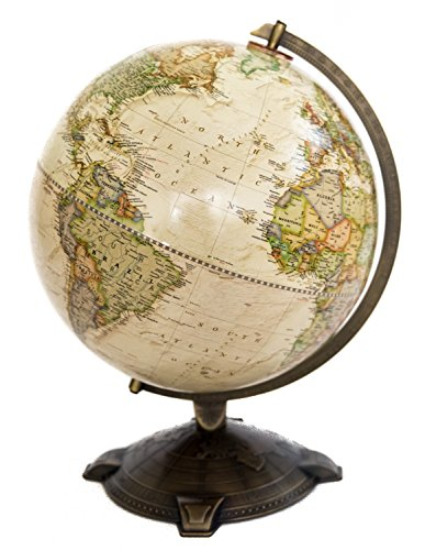 (National Geographic Antique Globe 12