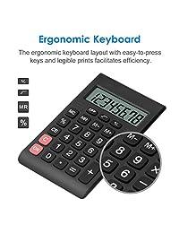 Calculadora, helect diseño compacto estándar función Handheld portable Calculadora   H1007