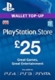 PlayStation PSN Card 25 GBP Wallet Top Up [PSN Download Code - UK account]