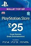 PlayStation PSN Card 25 GBP Wallet Top Up [PSN Download Code - UK account]