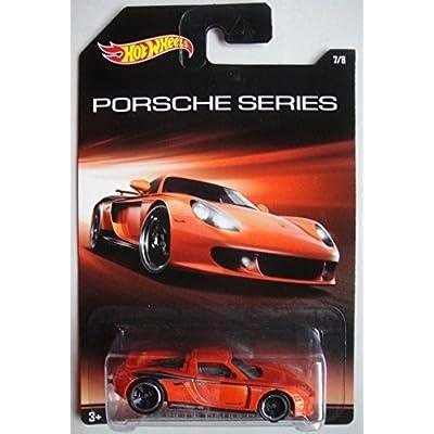 Hot Wheels Porsche Series Porsche Carrera GT 7/8, Orange: Toys & Games