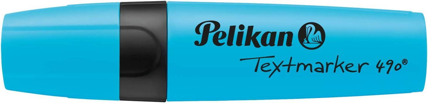 6 St/ück im Etui Pelikan 814065 Textmarker 490 farbig sortiert