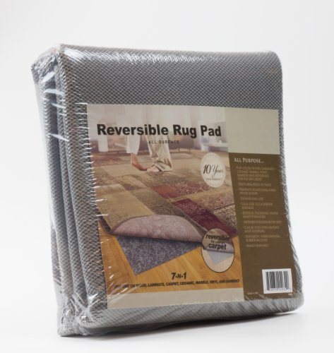 All-Surface Non-skid Area Rug Pad for 2-Feet by 4-Feet Rug