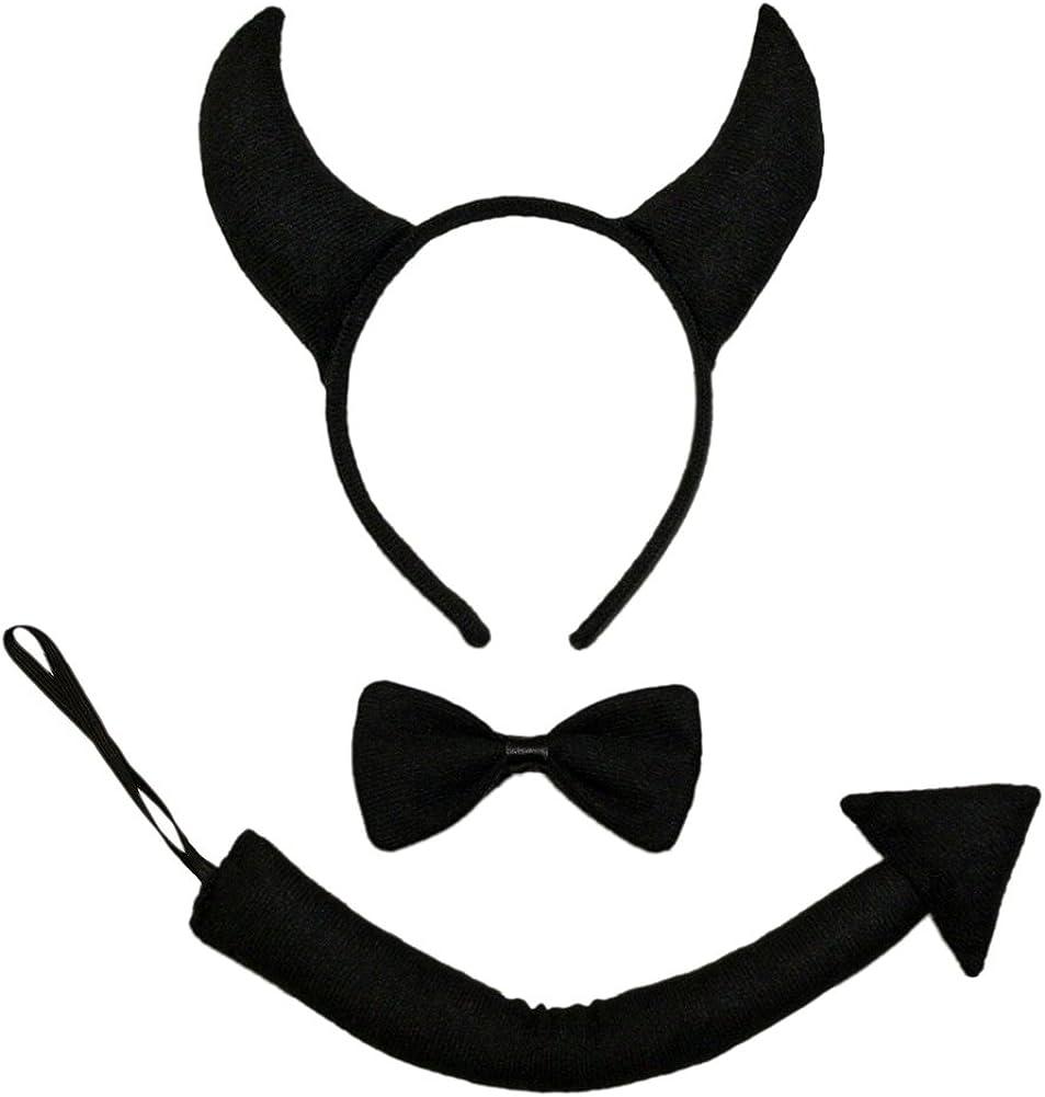 Dark Devil Horned Headdress