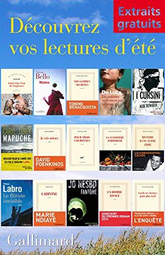 Extraits gratuits - Lectures d'été Gallimard (French Edition)