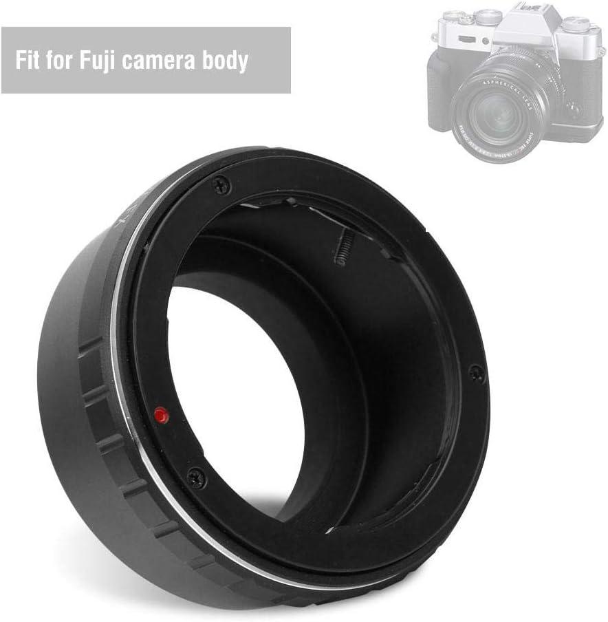 Bindpo Anillo Adaptador de Lente OM-EOS convertidor de Lente de Enfoque Manual de aleaci/ón con Contacto el/éctrico y Modo AV para Olympus OM Mount Lens para Canon EOS EF Camera