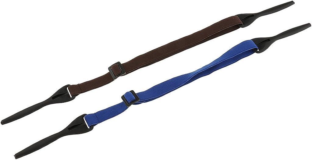 Brillenkordel L/änge: Ca Gazechimp Elastisches Brillenband 2 St/ück in verschiedenen Farben 40cm Sportbrillenband