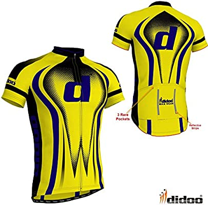 Didoo Pro Men/'s Short Sleeve Cycling Jerseys Bicycle T-Shirts Biking Racing Tops