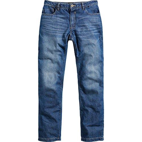 Spirit Motors Motorrad Jeans Motorradhose Motorradjeans Herren Jeans mit Schutzfunktion, 5-Pocket-Jeans, Boot-Cut Style…