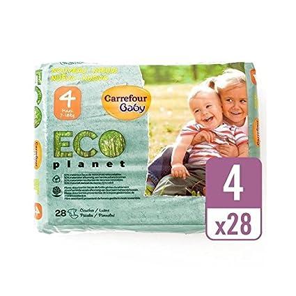 Carrefour Eco Bebé Tamaño Planetario 4 Acarreo Paquete De 28 Por ...