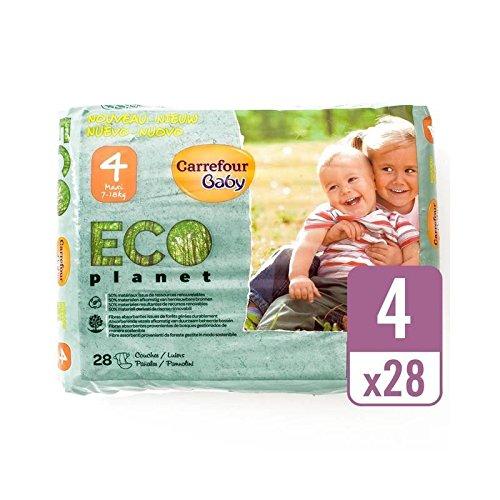 Carrefour Eco Bebé Tamaño Planetario 4 Acarreo Paquete De 28 Por Paquete - Paquete de 6: Amazon.es: Bebé