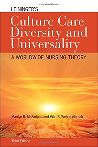 Book Leininger's Culture Care Diversity And Universality: A Worldwide Nursing Theory (Cultural Care Diversity (Leininger)) by Marilyn R. McFarland (2014-06-06)