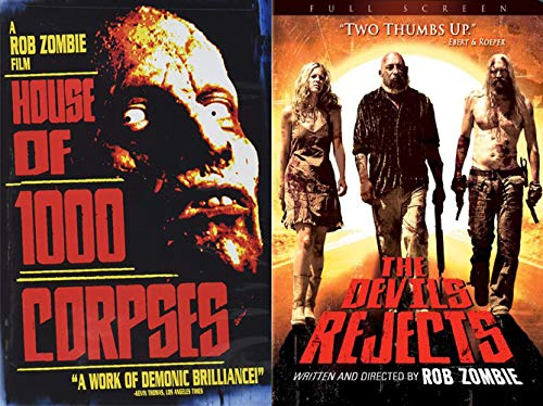 (The Story of Captain Spaulding, Otis, and Baby Through the Demented Vision of Rob Zombie: House Of 1,000 Corpses + The Devil's Rejects (2 Blu-Ray)