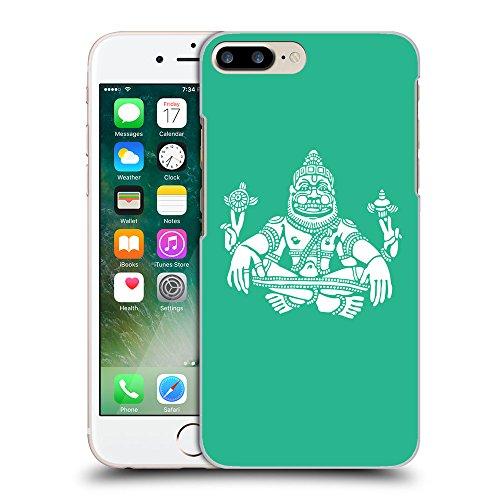 GoGoMobile Coque de Protection TPU Silicone Case pour // Q09550626 Hindou 9 Caraïbes Vert // Apple iPhone 7 PLUS