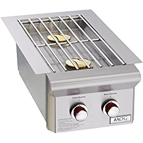 American Outdoor Grill - 'T' Series NG Built In Side Burner 15,000 BTUs
