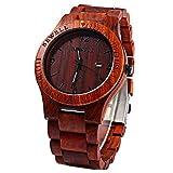 Best Design Watches - Handmade Solid Wooden Wrist Watch, CEStore® BEWELL Unique Review
