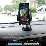 FOME 2-in-1 Mobile Phone Car Mount,Cell Phone Holder, Cradle  Universal Fit  Secure Cell Phone/GPS to Windshield Dashboard Car Mount Holder - Installs in Seconds - Padded, Adjustable Grips for Safety and Security - Hands Down the Best Mount You'll Own! - Fits Iphone 6, 6plus, 5, 5s, 5c, 4, 4s, Android Samsung Galaxy S5, S4, S3, Note 2/3/4 and All Other Smartphones