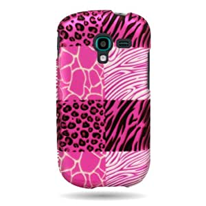 CoverON® Slim Hard Case for Samsung Galaxy Exhibit with Cover Removal Tool - (Pink Exotic Skins)