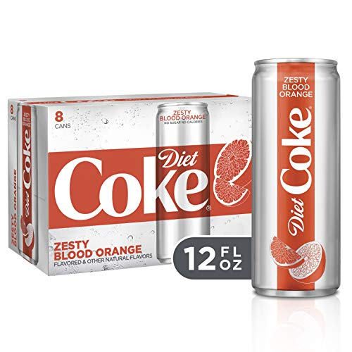 Sauce Lime Orange (Diet Coke Zesty Blood Orange Soda Soft Drink, 12 fl oz, 8 Pack)