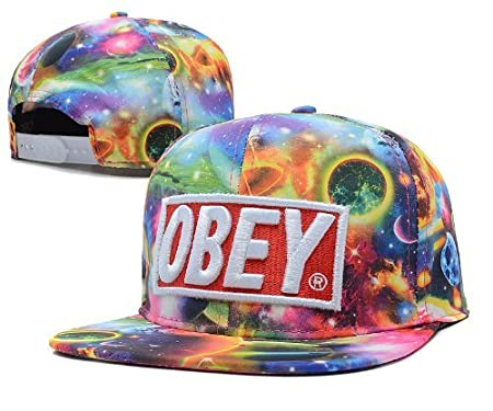 Obey Galaxy Snapback  Amazon.co.uk  Kitchen   Home 3a414f4044d