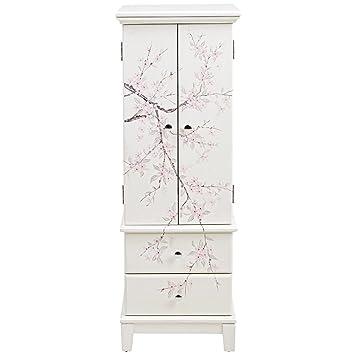 Amazoncom Home Decorators Collection Cherry Blossom Cream Jewelry