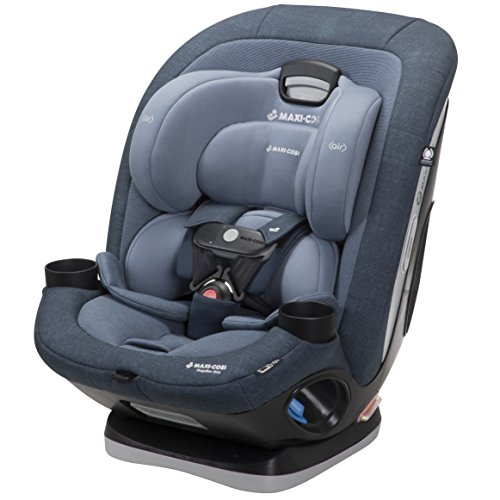 Maxi-Cosi Magellan Max All-in-One Convertible Car Seat with 5 Modes and Magnetic Chest Clip, Nomad Blue (Maxi Cosa Pria 70)