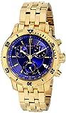 Tissot PRS-200 Men's Blue Chronograph Dial Yellow Gold Watch T067.417.33.041.00