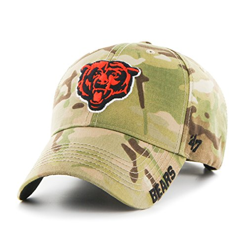 - '47 NFL Chicago Bears Myers MVP Hat, One Size, Multicam