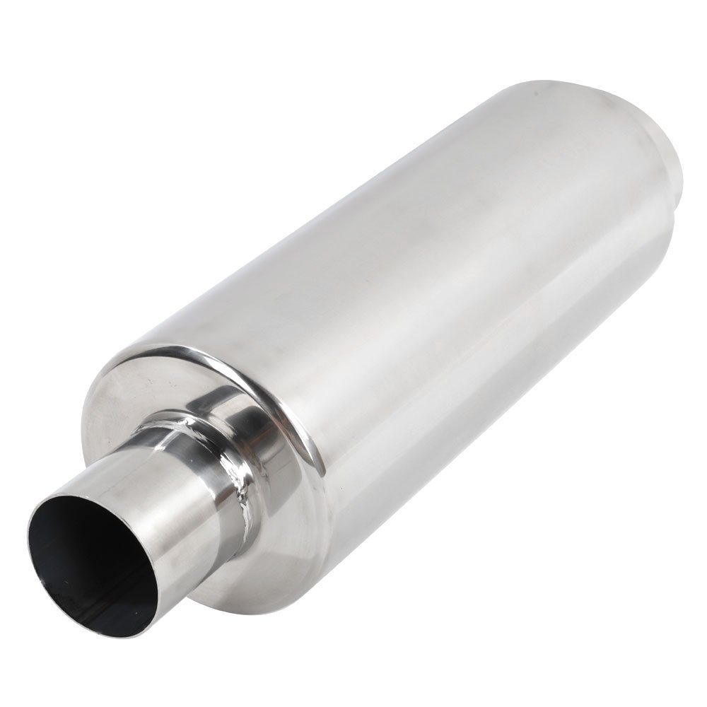 """Amazon.com: MILLION PARTS 2.5"""" Inlet to 3.5"""" Outlet Universal Exhaust  Muffler Tip Fit Honda Acura Stainless Steel Polished: Automotive"""