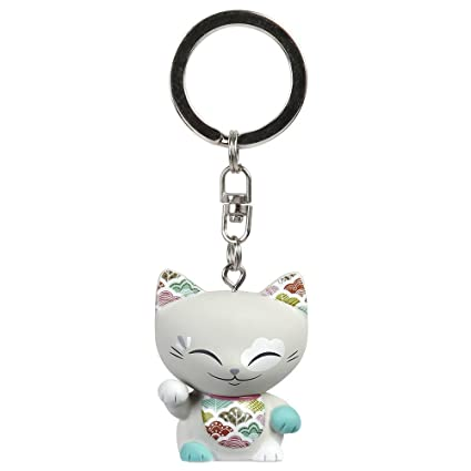 Mani Llavero, diseño de gato de la suerte the Lucky Cat ...