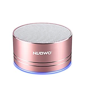 NUBWO Portable Bluetooth Speaker with Mic/Speakerphone,AUX Line,Memory Card Playback Smartphones for Apple/Android Phone by NUBWO