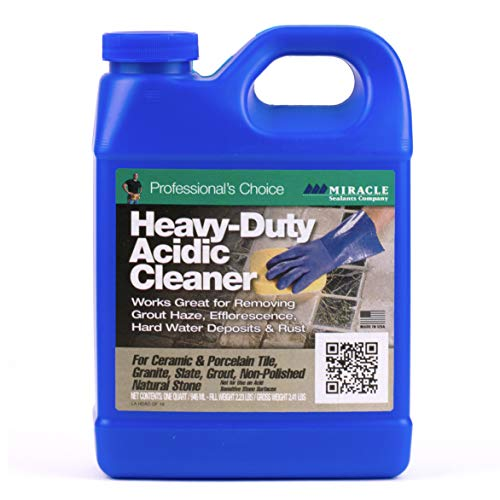 (Miracle Sealants HDAC6QT Heavy Duty Acid Cleaners)