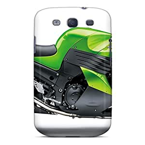 Shock-dirt Proof Kawasaki Zzr 1400cc Case Cover For Galaxy S3