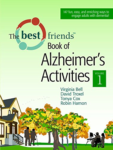 The Best Friends Book of Alzheimer's Activities, Vol. 1 by Brand: Health Professions Pr