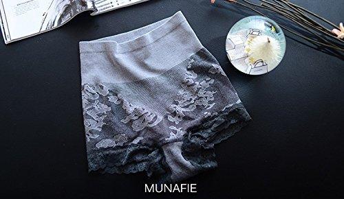 Japón MUNAFIE alta cintura aplanar vientre adelgazar formando bragas panty Slim ropa interior bellyshaper Nude