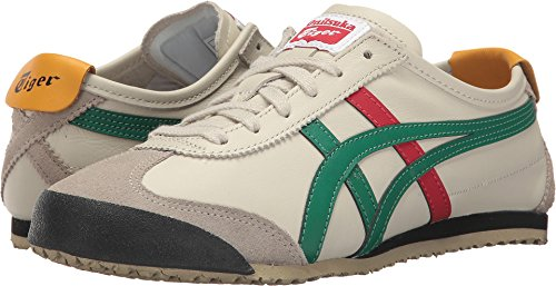 Onitsuka Tiger by Asics Unisex Mexico 66 Birch/Green 1 Sneaker