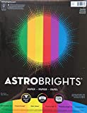 "Astrobrights Color Paper, 8.5""x11"", Primary 120 Pages"