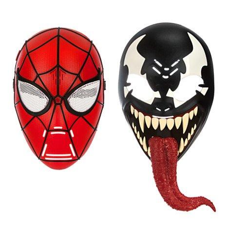 Ultimate Spider-Man Spider-Man 2-in-1 Mask Talking Roleplay Toy [Spider-Man and (Spiderman Venom Mask)