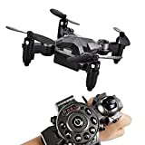 SainSmart Jr. Kids Drone RC Quadcopter Watch Style Remote Control Mini Drone, 2.4G 4CH 4 Axis...