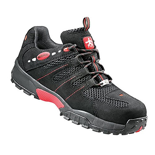 BAAK chaussures de sécurité eSD ron sports light-basses-noir - 7147 bGR191: chaussures adaptées aux semelles orthopédiques, noir, 7147