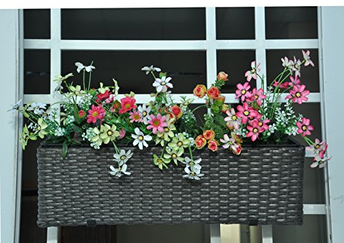 PLTP 1326 All Weather Polyrattan Planter Decorative product image