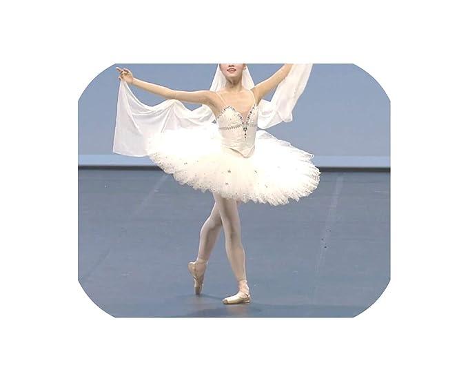 Falda de Ballet para Adulto con tutú, Lago de Cisne Blanco ...