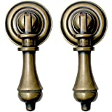 Amazon pendant pulls cabinet hardware tools home nesha cudgel tear drop cabinet pulls set of 2 mozeypictures Images