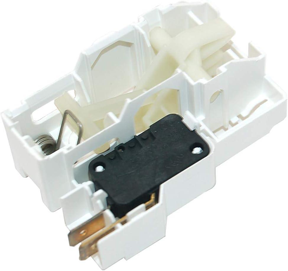 Ariston Creda Hotpoint Indesit Proline - Interruptor para puerta de secadora, número de pieza original C00142615