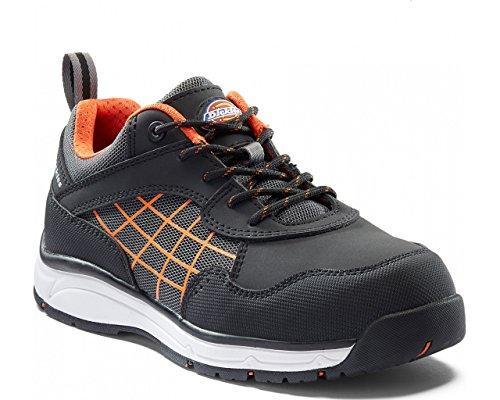 orange ladies Trainers Noir Resistant Water Dickies Safety Workwear Womens Elora CxBEdWQoer